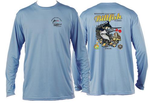 2017 MGCBC Blue DryFit LS T-Shirt