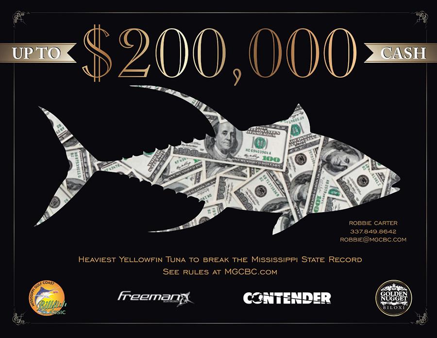 Yellowfin Tuna Jackpot